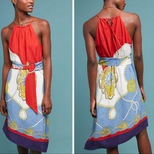 Anthropologie Maeve xs inseam scarf dress new 🌟🌟